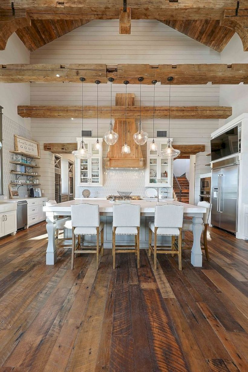 Fantastic Rustic Farmhouse Home Decoration Ideas 24