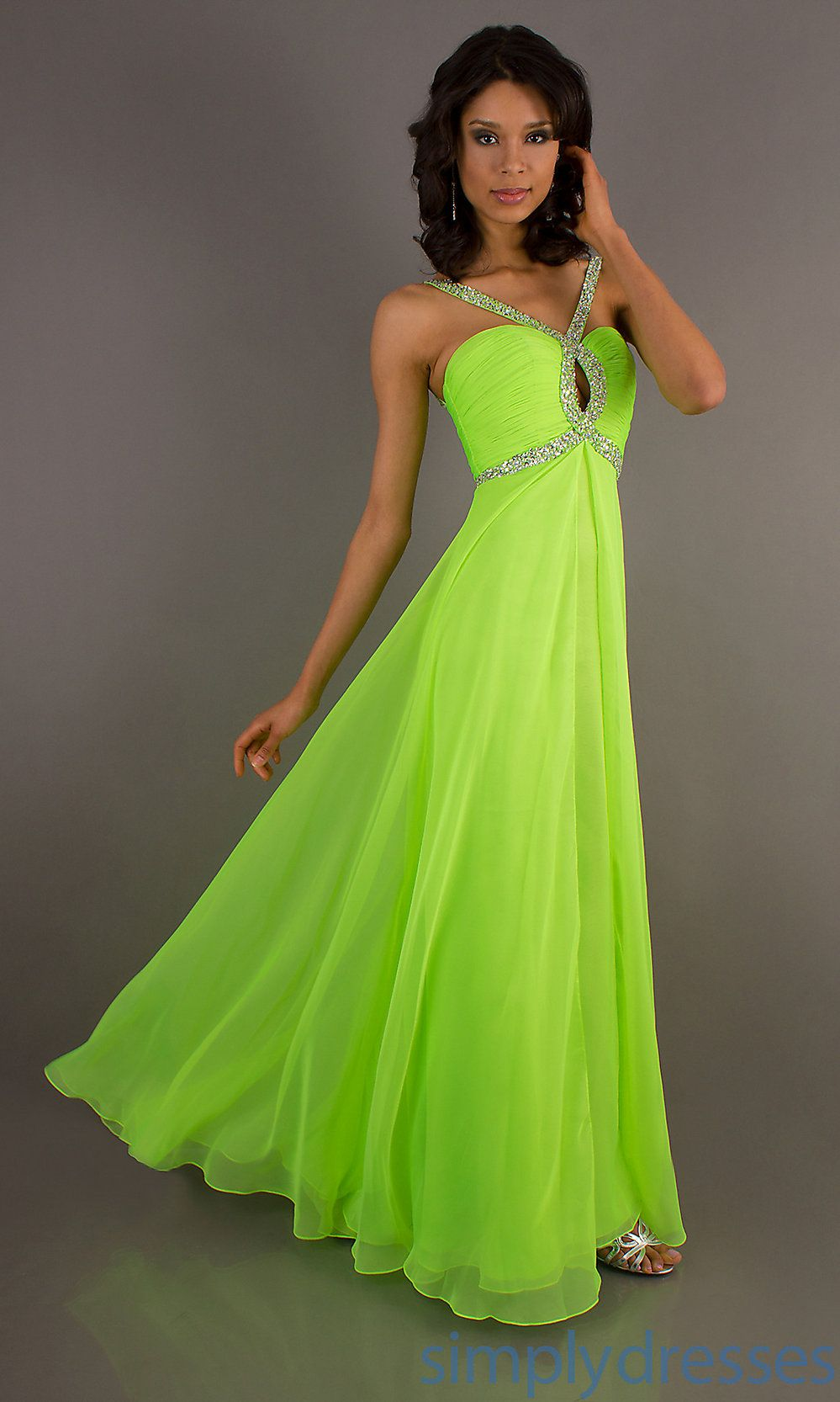 Neon Green Prom Dresses Coat Pant Michelle Pinterest