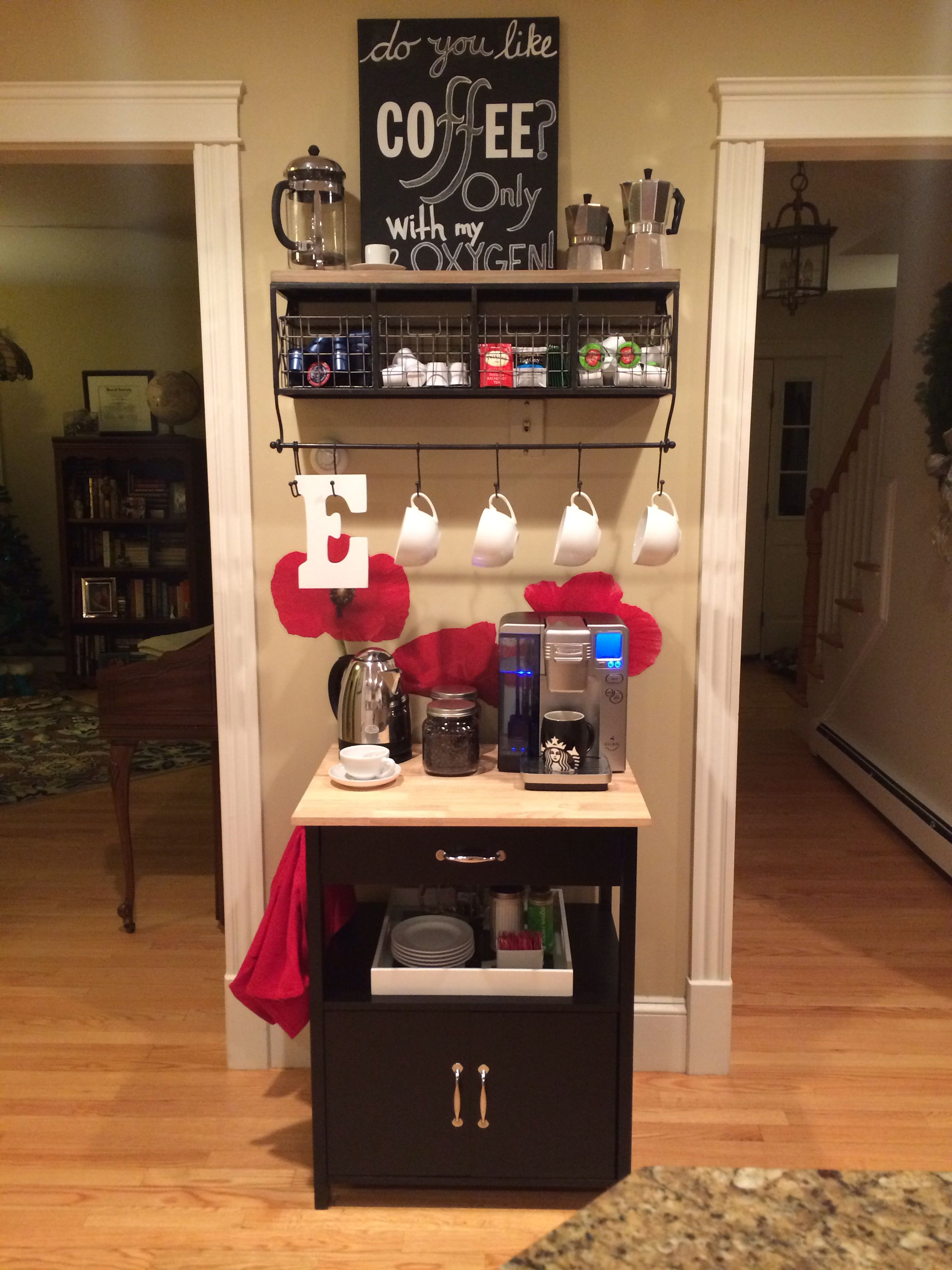 Tiny Craftsman Comes With Espresso Station: Coffee And Tea Bar... Just To Clarify, I Do NOT Like The