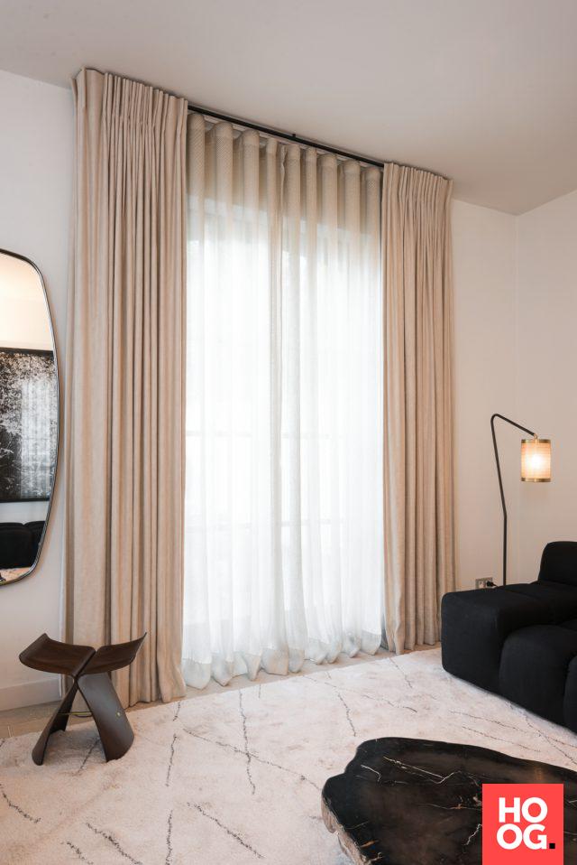Interieur Ideeen Gordijnen.Luxe Gordijnen In Modern Interieur Interieur Ideeen