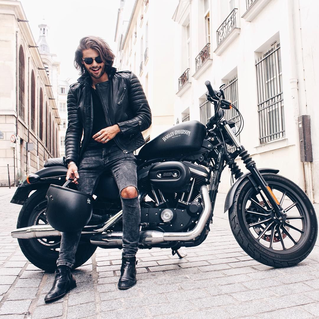 Hot Instagrammer Iamrenanpacheco In Leather | KUu017dE | Pinterest | Leather Bikers And Fashion