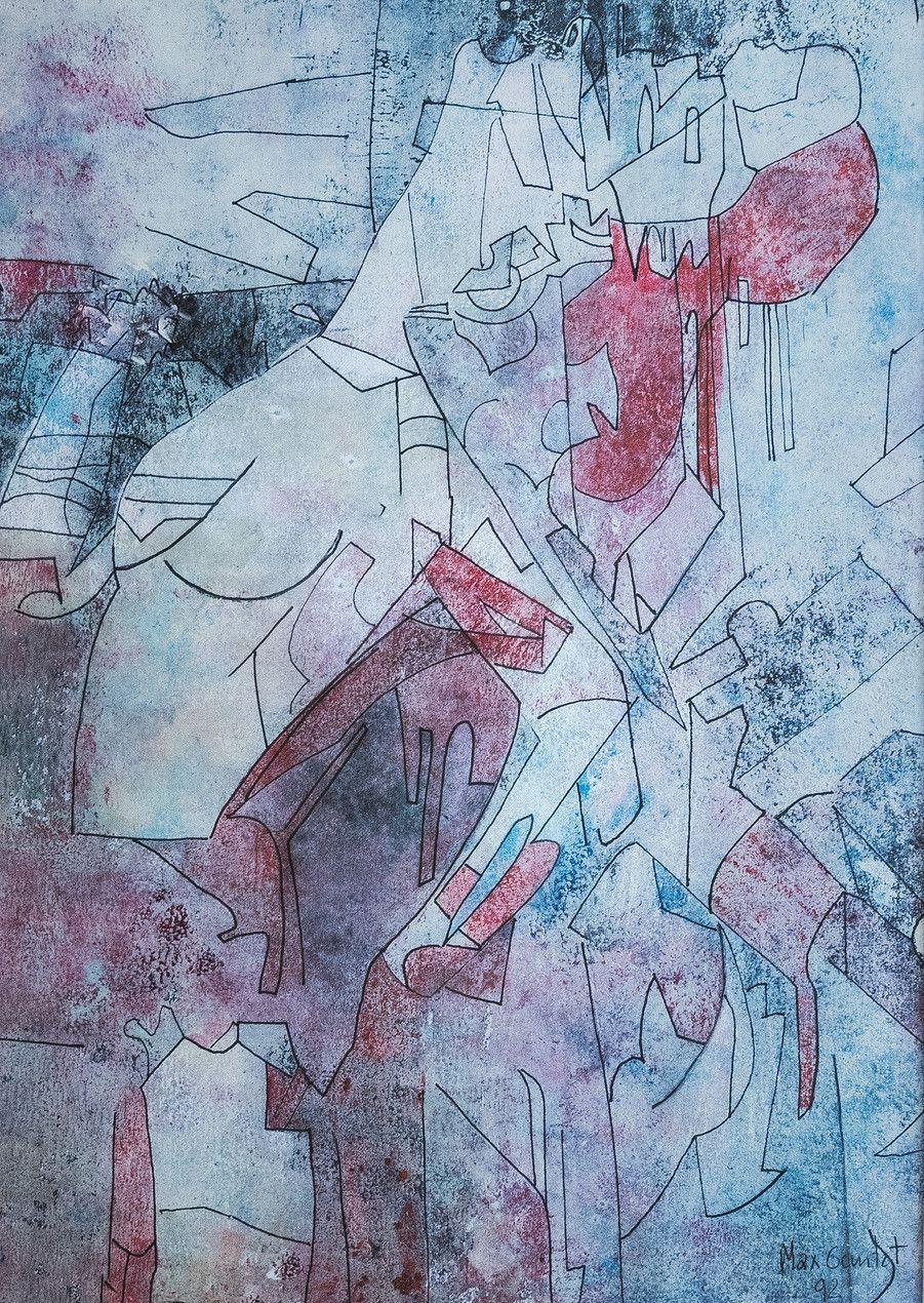 Les peintures de jean-michel cereda