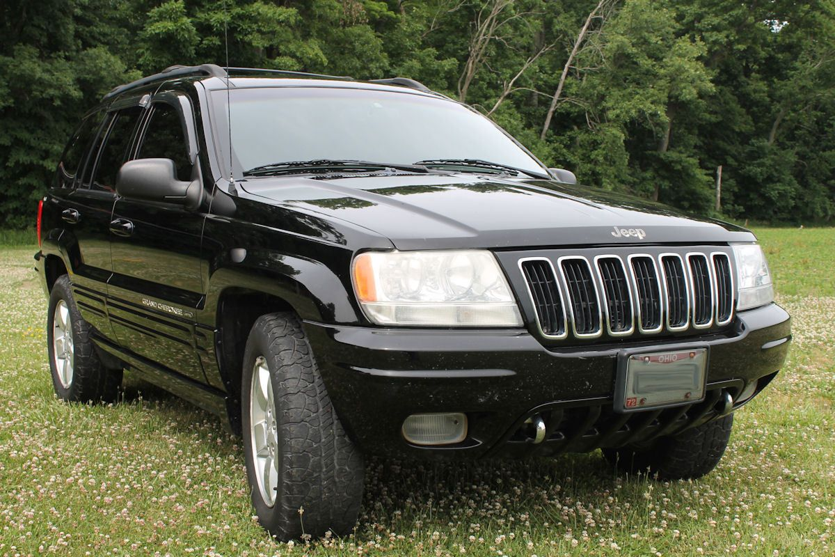 Car Brand Auctioned Jeep Grand Cherokee Limited 2001 Car Model