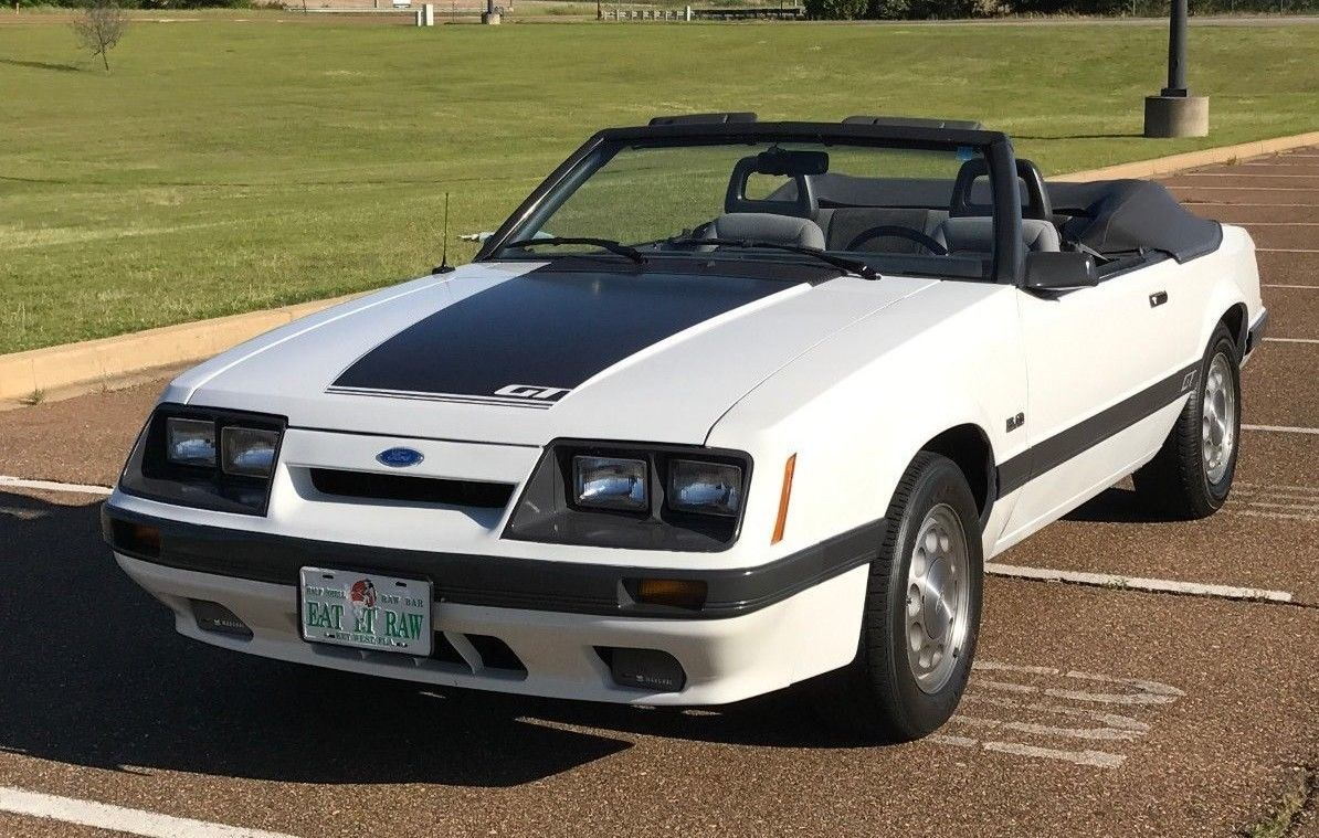 Ebay 1985 Ford Mustang Gt 1985 Mustang Gt Convertible 5 Speed Rare