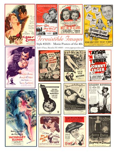 40's posters