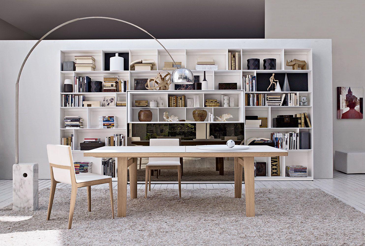 Biblioteca moderna livros biblioteca moderna muebles for Muebles bibliotecas para living