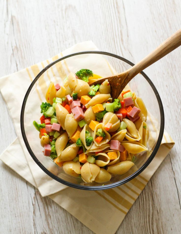 Garden Party Pasta Salad Recipe Easy pasta salad