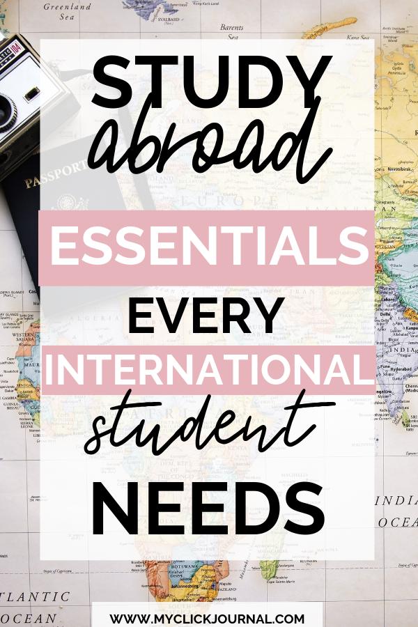 Photo of Study abroad essentials every international student needs!