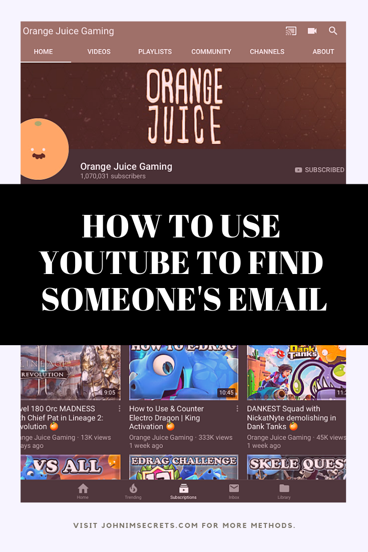 How To Find Someone S Email Address For Free Twitter Marketing Strategy Youtube Marketing Marketing Tips