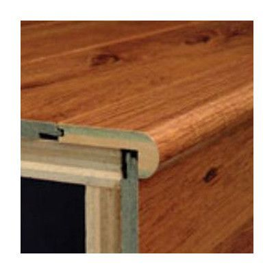 Bruce Flooring 47 Oak Stair Nose In Provincial Amber Acacia | Bruce Hardwood Stair Treads | Trim | Autumn Glen | Plywood | Red Oak | Nose Molding