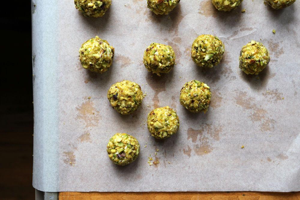 Goat Cheese and Apricot Truffles