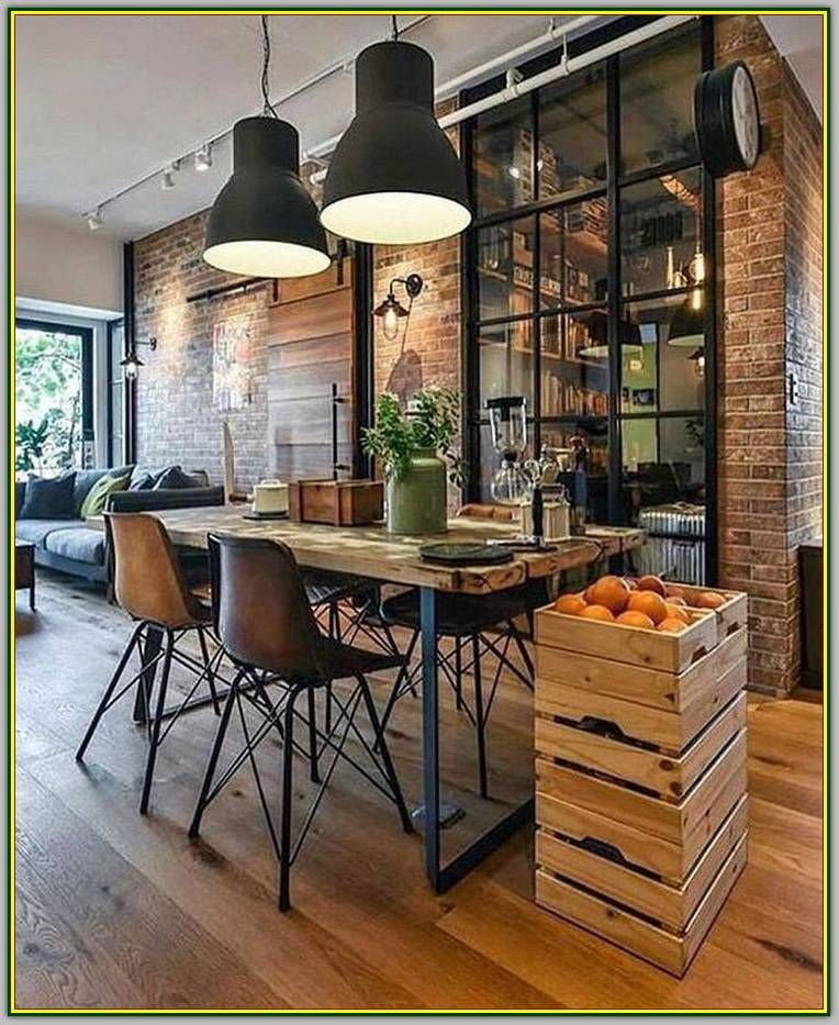 Living Room Interior Design Everyone Can Find Benefit From Modern Interior Design Industrial Interior Design Industrial Decor Living Room Industrial Style Decor