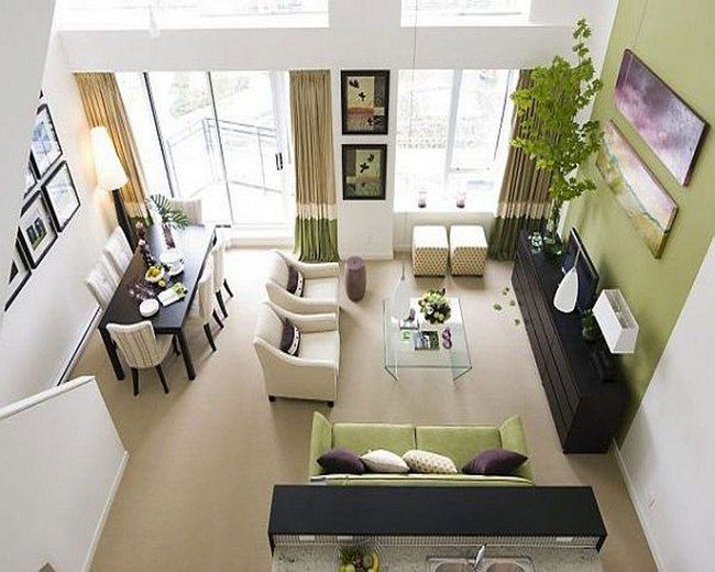 Tips on Decorating Small Living Rooms Ремонт Pinterest Small