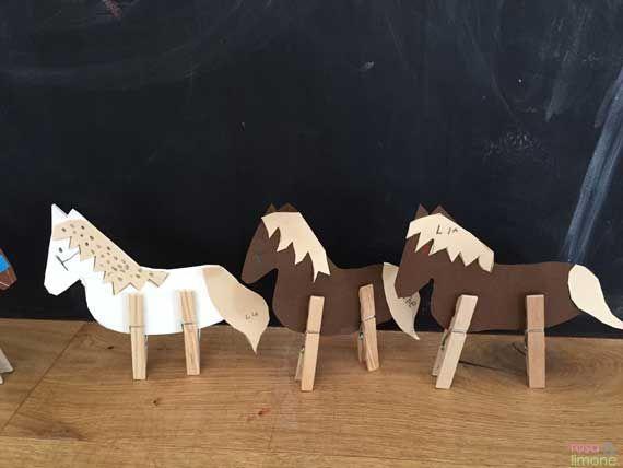 Pferde basteln    Was für eine schöne Idee für den nächste Kindergeburtstag.  Vielen Dank  Dein blog.balloonas.com      #kindergeburtstag #motto #mottoparty #kinder #kids #birthday #party #basteln #diy #katzengeburtstag
