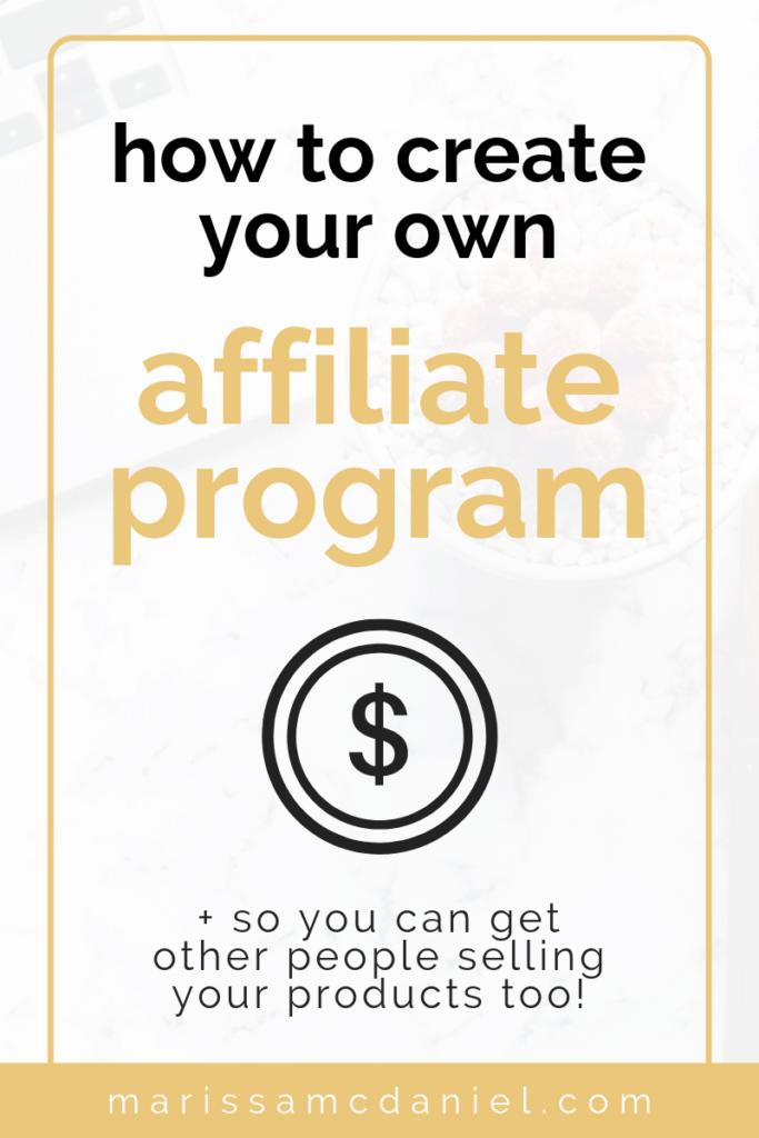 How to Create an Affiliate Program #programingsoftware