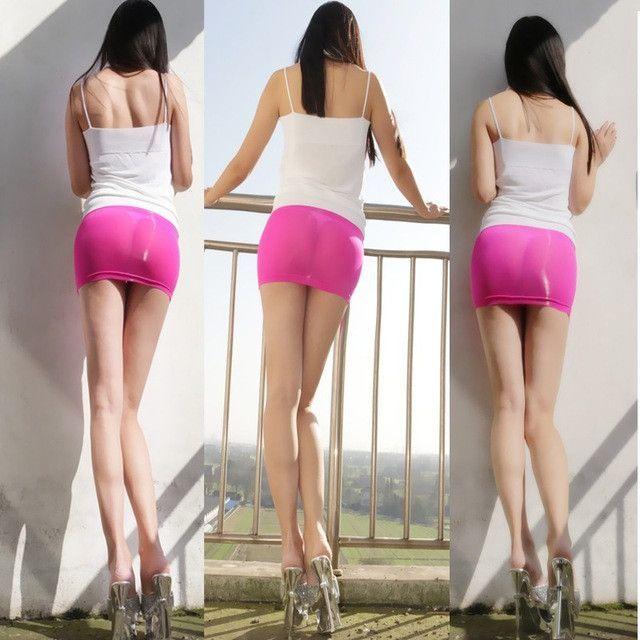 e11c7f67619f07 Hot Sexy MINI Skirt Transparent Sheer Skinny Tight Pencil Cute Skirt Night  Club Dance Fantasy Women's Sexy