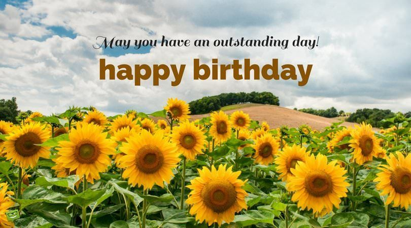 100 Unique Birthday Wishes To Post And Share Unique Birthday Wishes Growing Sunflowers Happy Birthday