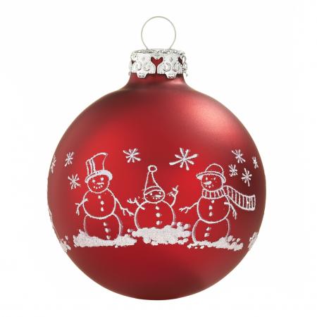 Günstige Christbaumkugeln.Christbaumkugeln Mit Umlaufenden Dekoren Rot Diy Baubles
