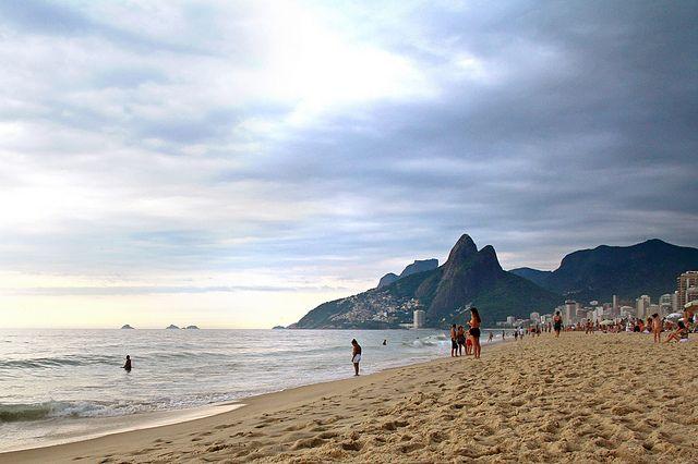 Ipanema Beach, Rio de Janeiro, Brazil - Photo:  Dimitry B. via Flickr, used under Creative Commons License (By 2.0)