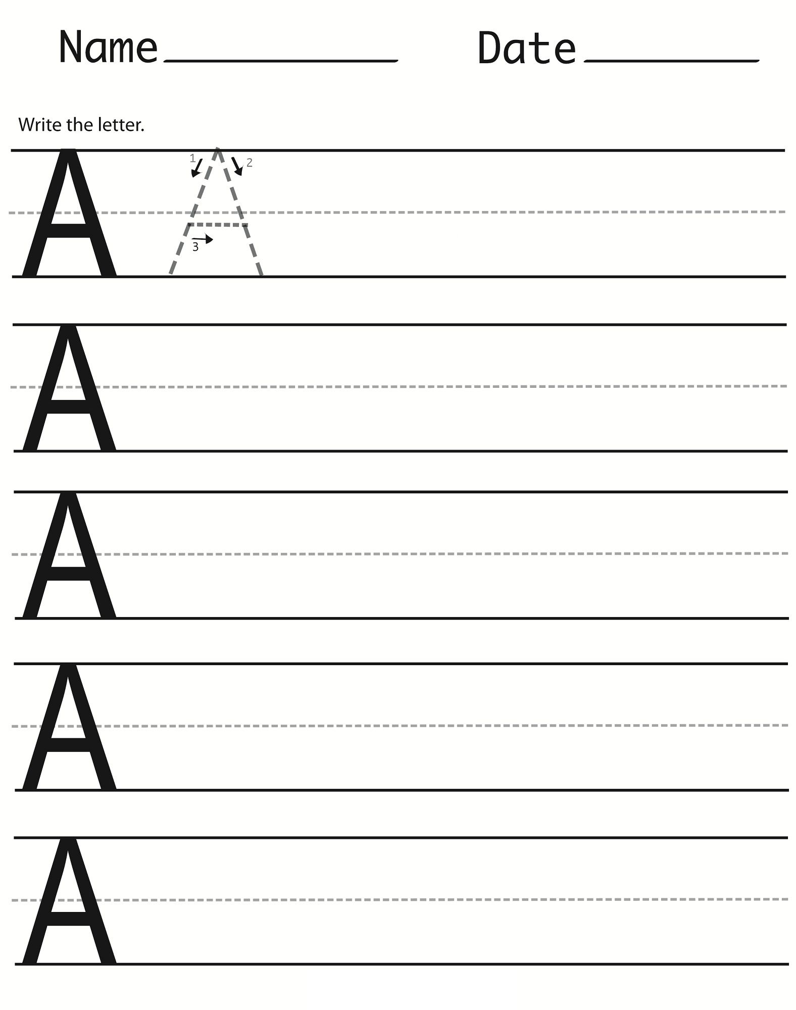 Capital Worksheet