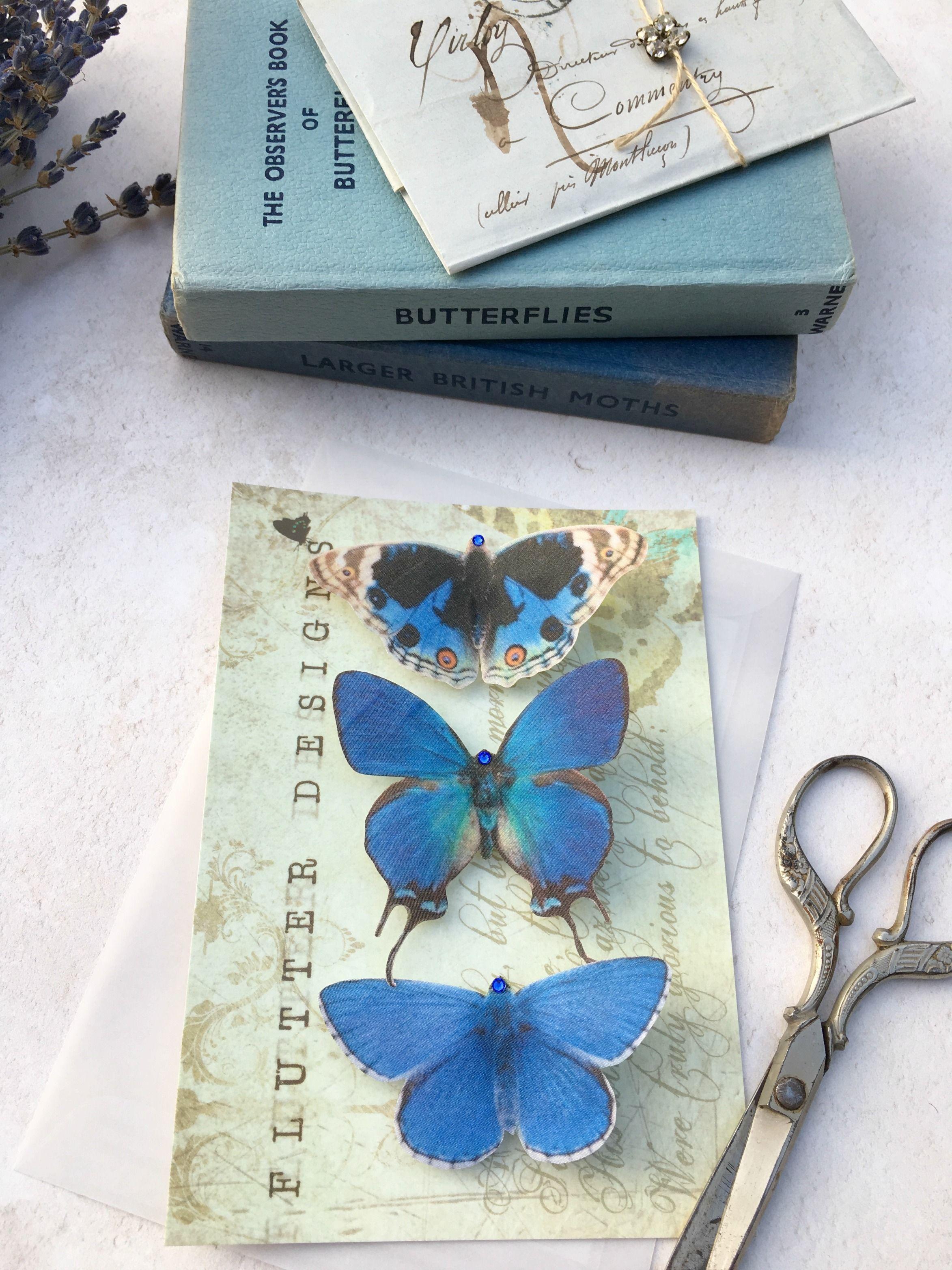 Pin de Flutter Designs en Blue Butterflies | Pinterest