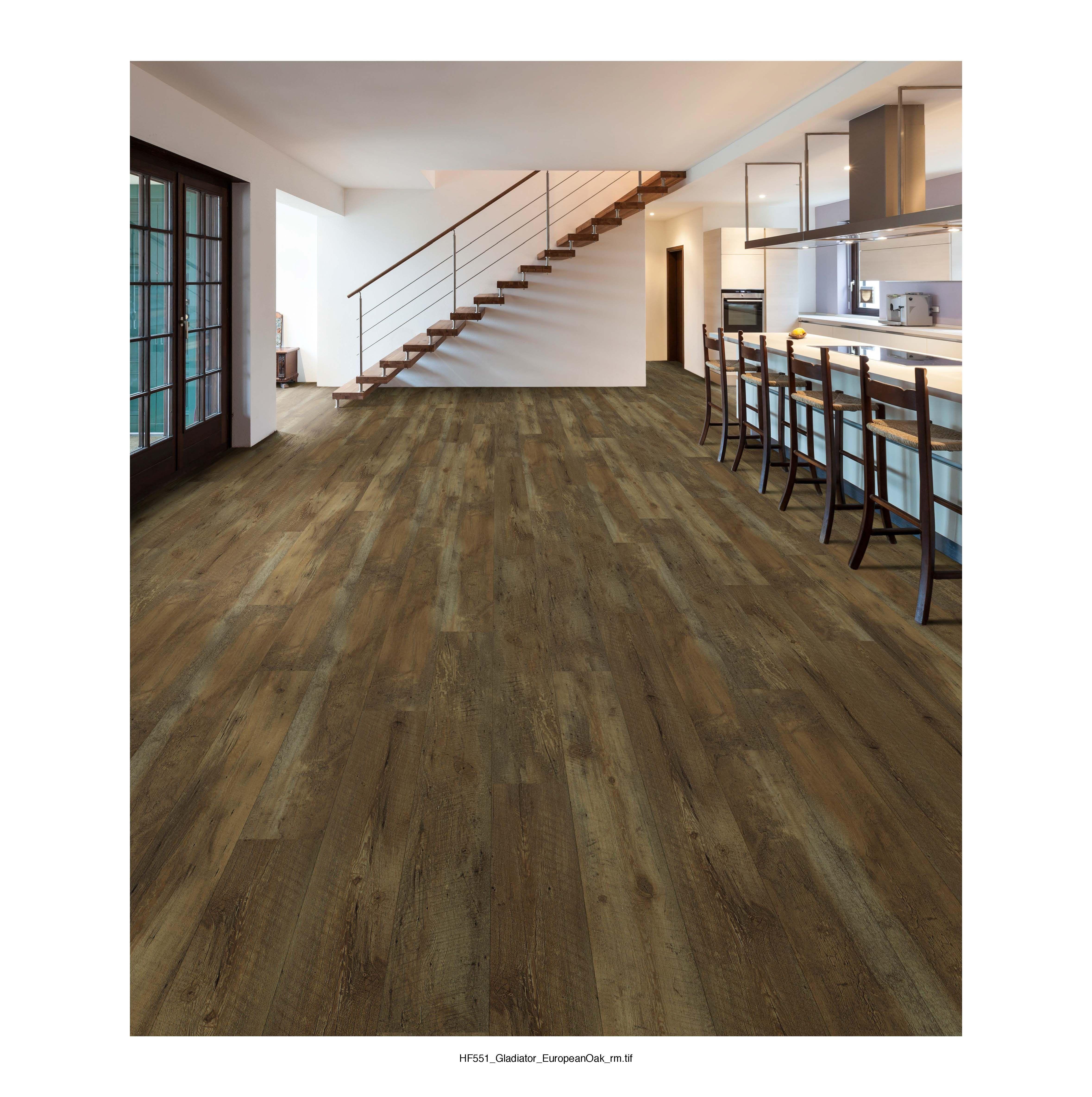 European Oak Luxury vinyl plank, Plank tile flooring
