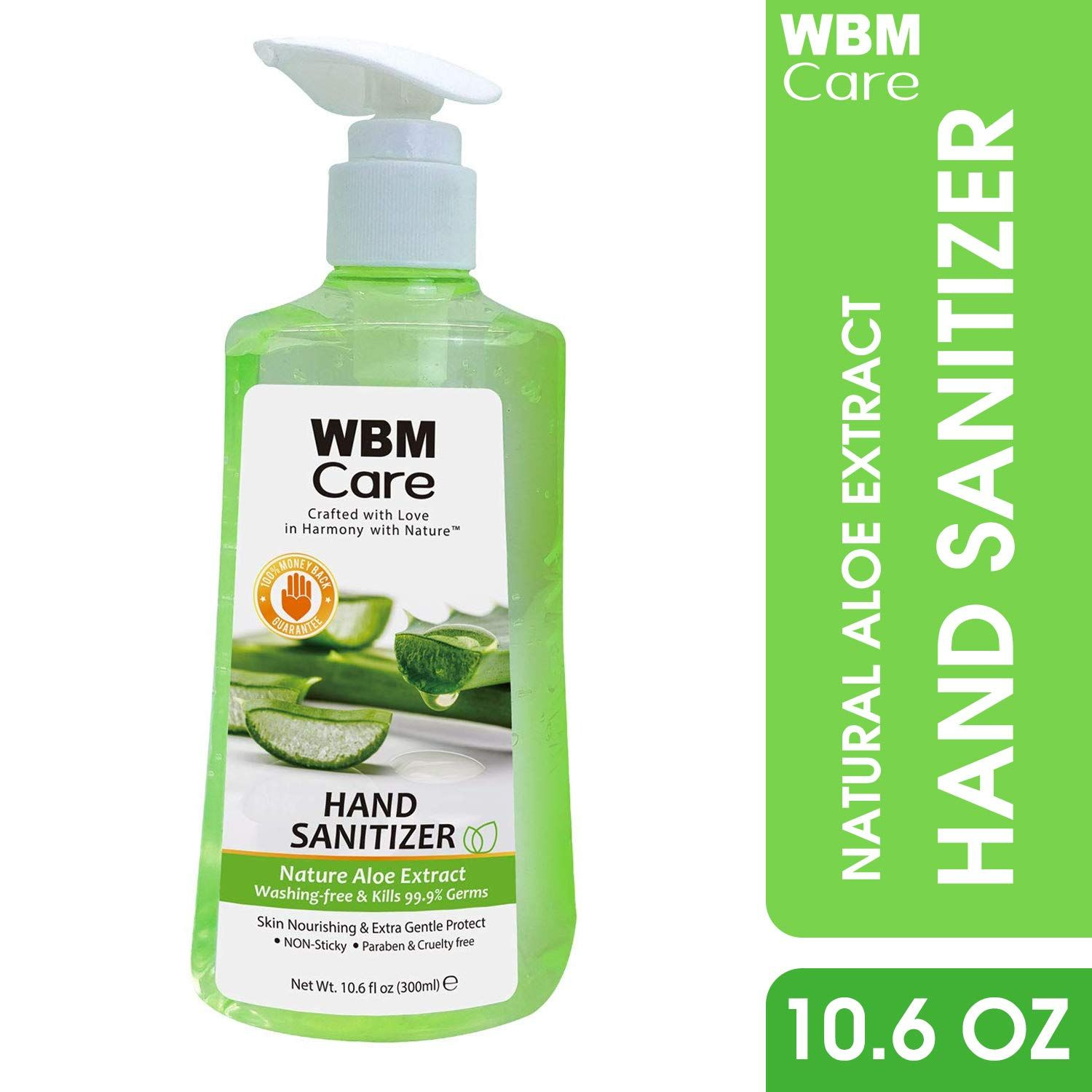Wbmcare Skin Nourishing Hand Sanitizer Easy To Keep Hands Clean