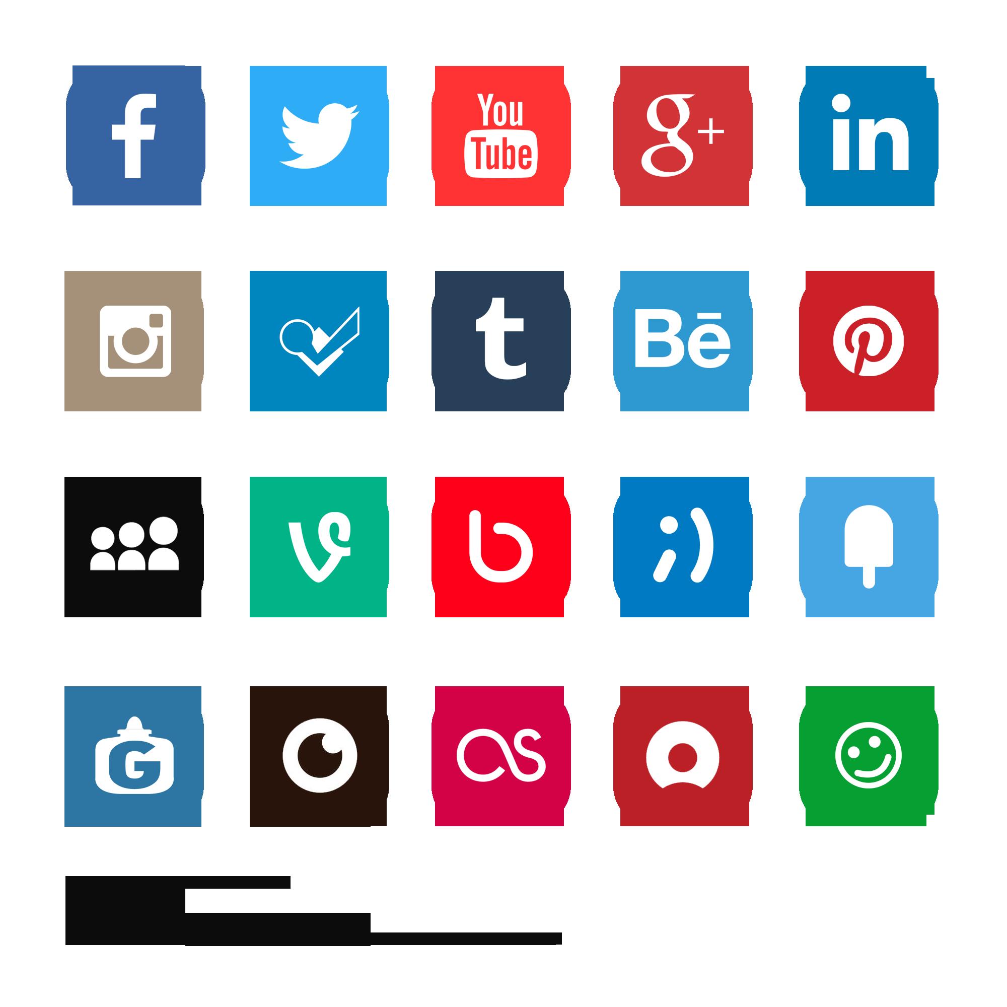 social media logo Recherche Google
