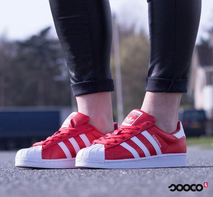 adidas easy Rood