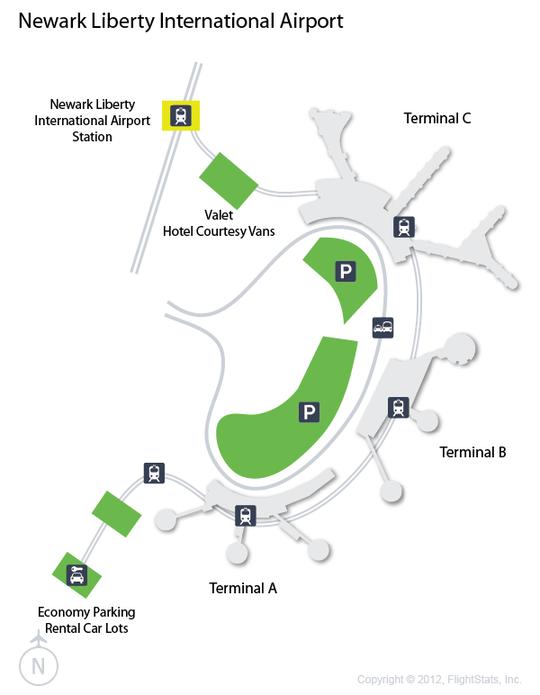 Ewr Newark Liberty International Airport Terminal Map Newark Liberty International Airport Airport International Airport