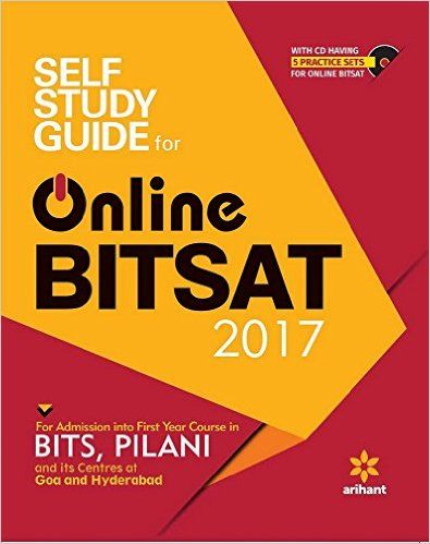 Self Study Guide For Online Bitsat 2017 Book Online At Low Prices