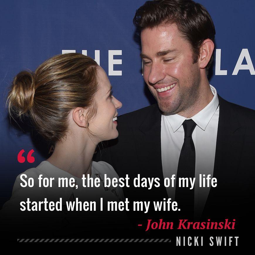 John Krasinski Quote So Cute Celebration Quotes Celebrities Celebrity Smiles