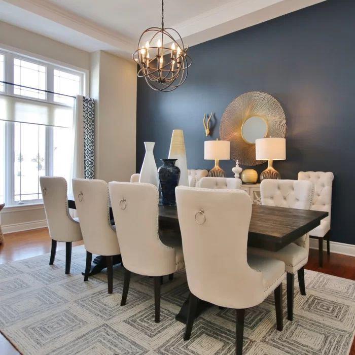 Stonefort Tufted Velvet Upholstered Dining Chair