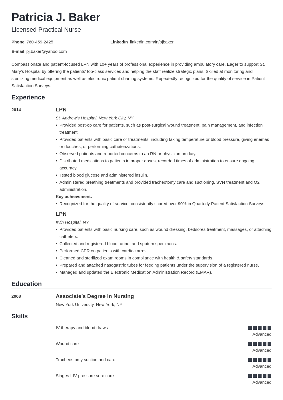 Lpn Resume Example Template Nanica Lpn Resume Nursing Resume Examples Nursing Resume
