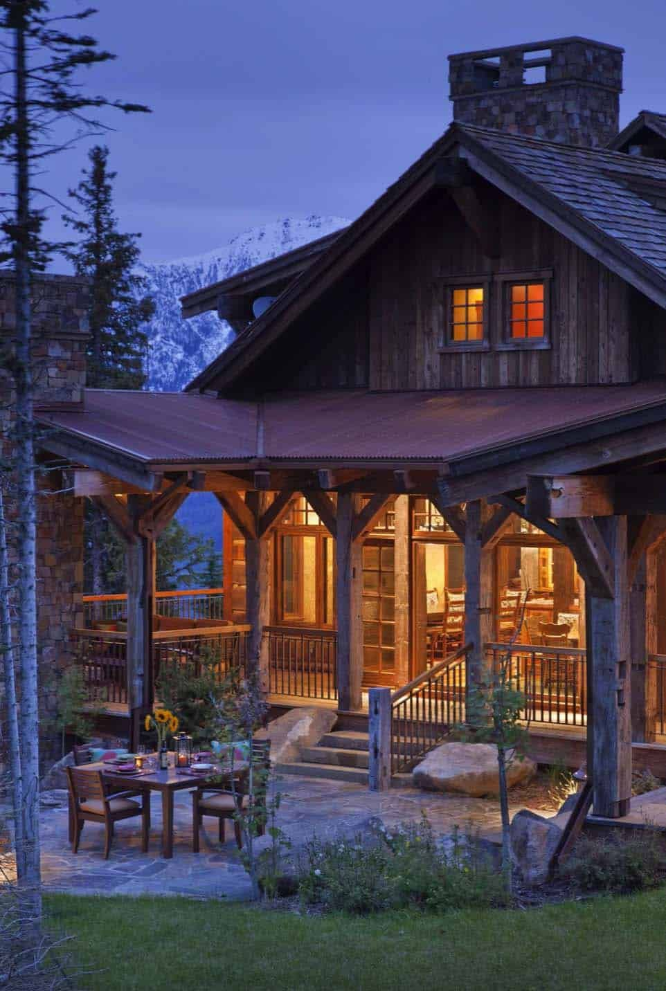 cozy mountain hideaway with charming modern rustic style on modern cozy mountain home design ideas id=18405