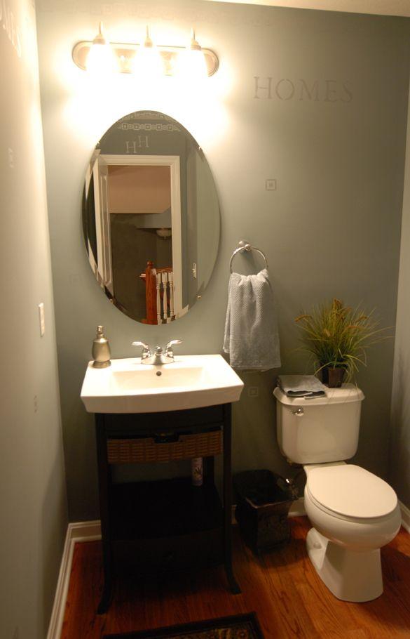 Powder room vanity franklin harrison lincoln - Powder room vanity ideas ...