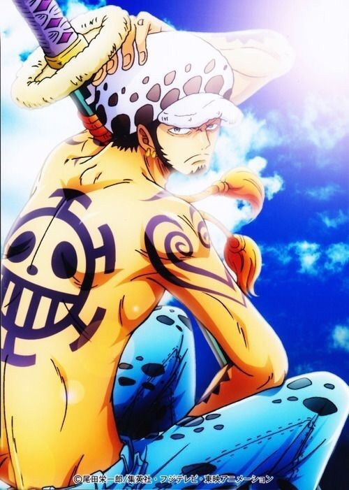 Image about anime in Trafalgar Law 💗💗 by ~ Mira ~ ♥️