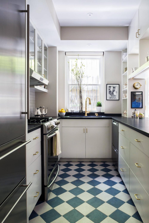 Jane Street Brownstone - Traditional - Kitchen - New York ...