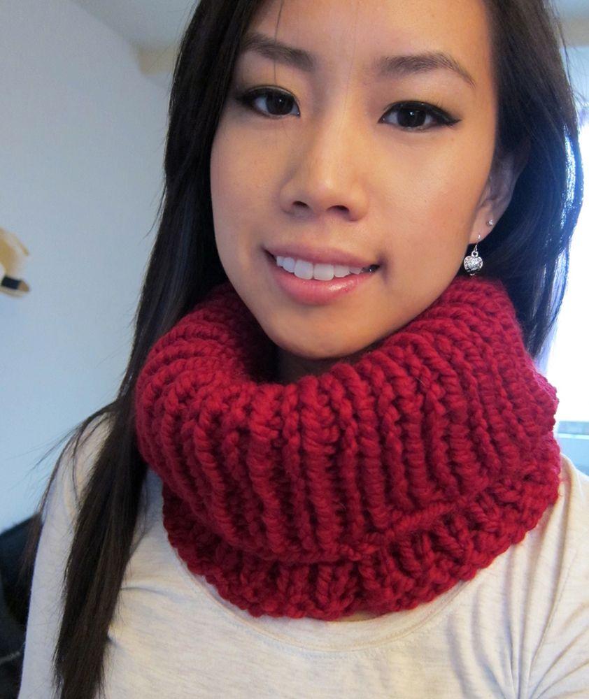 Tonsee Kids Winter Cute Knit Woolen Scarves Neck Warmer