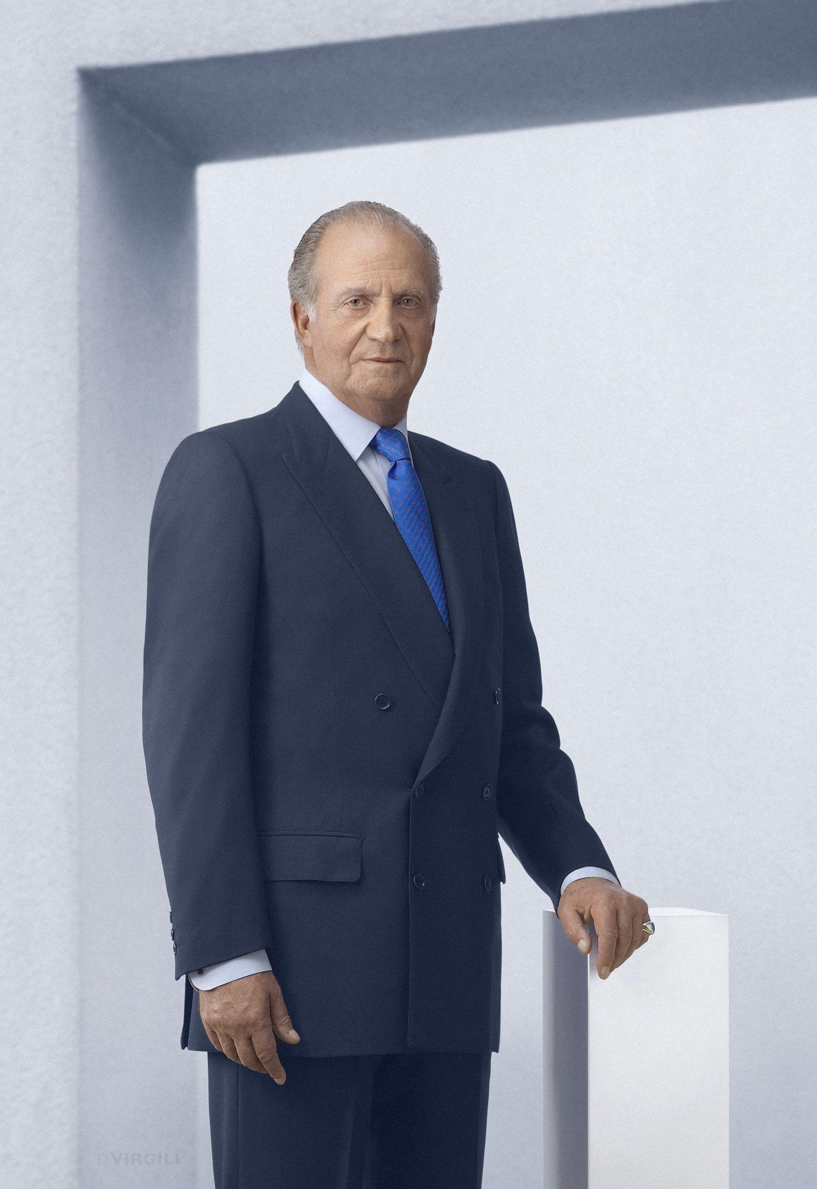 S. M. el Rey Juan Carlos I; fotografía oficial. Casa de Su ...