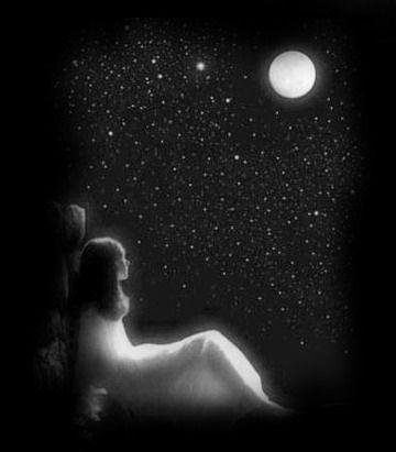 صور لكل محبي القمر والرومانسية وهدوو الليل صور جميلة Gize