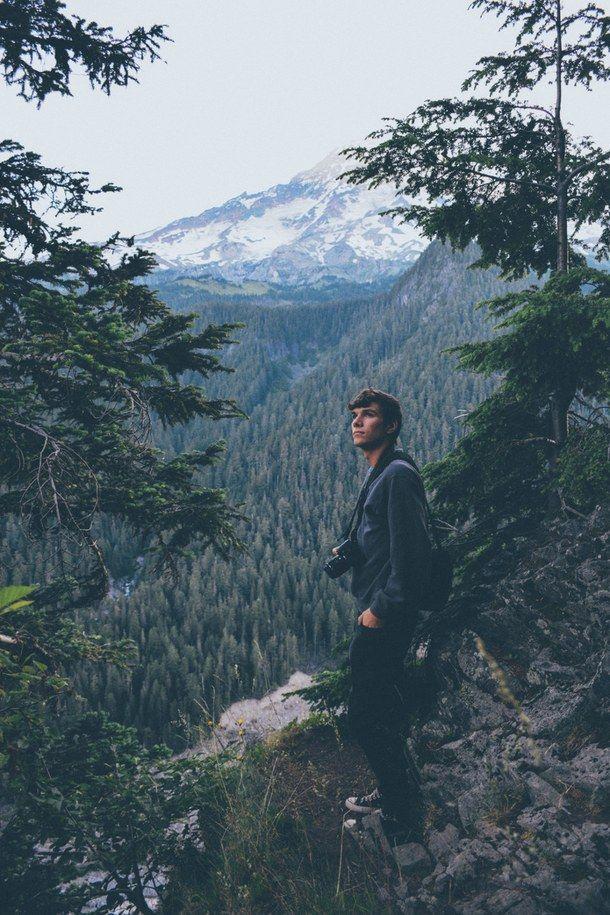 Adventure Boy Escape Explore Forest Hipster Indie Landscape