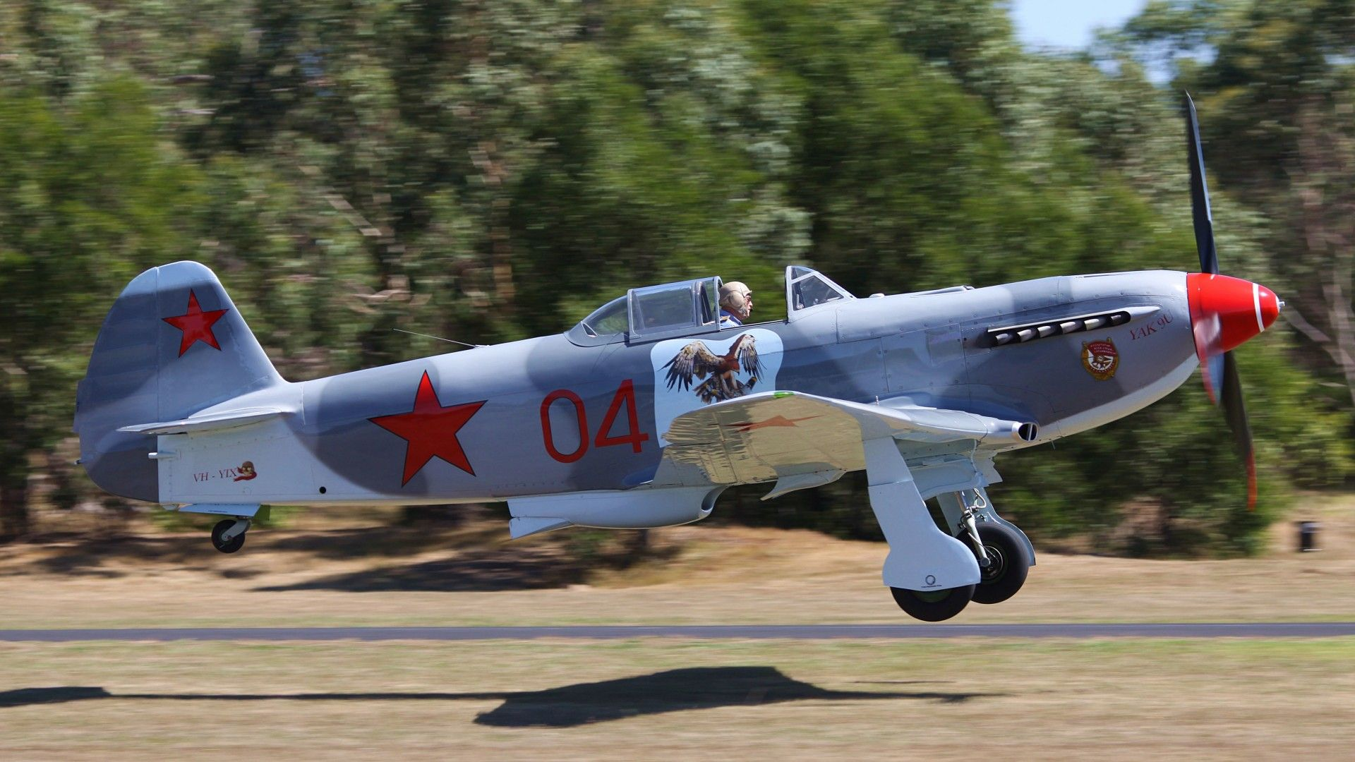 Обои historical, советский, military, club, як-9у, Самолёт. Авиация foto 6