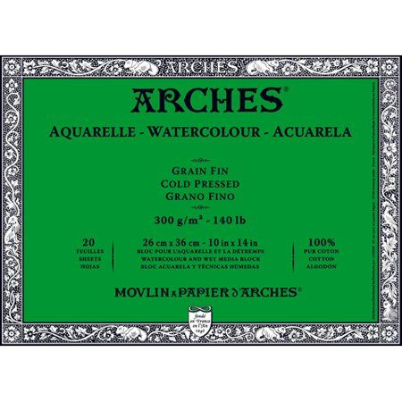 Arts Crafts Sewing Arches Watercolor Paper Arches Paper