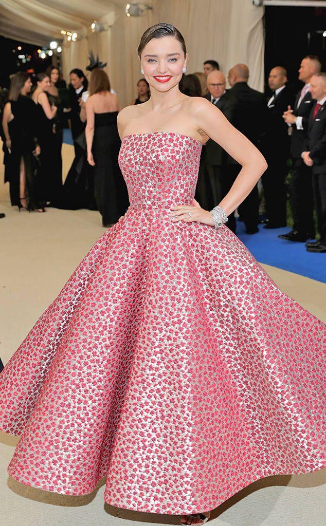 Miranda Kerr from 2017 Met Gala: Red Carpet Arrivals | Oscar de la ...
