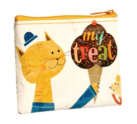 My Treat Coin Purse-Shinzi Katoh