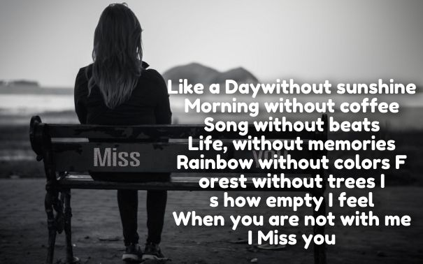 Missing You Love Poems For Her