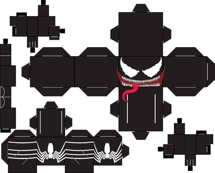 Venom Eddie Brock by SharkBomb
