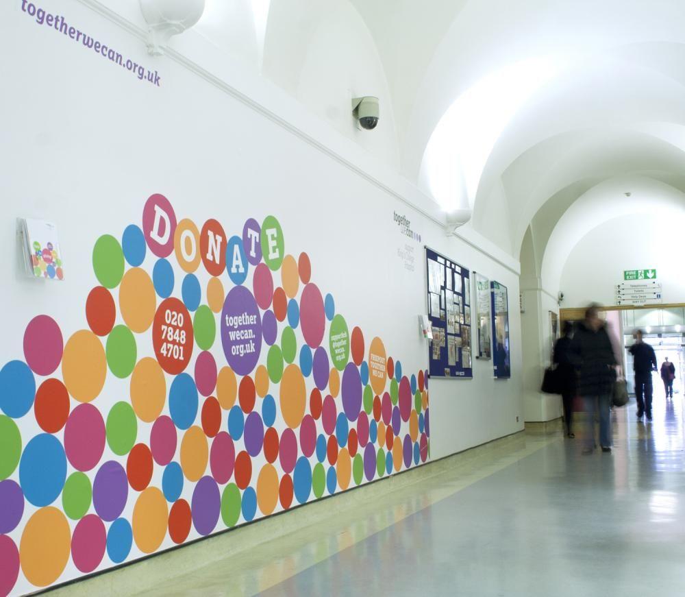 College Wall Graphics Wall Graphics Wall Collage School Murals