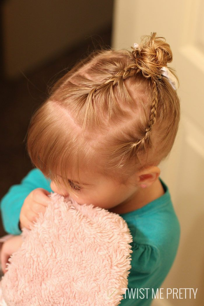 styles wispy haired toddler